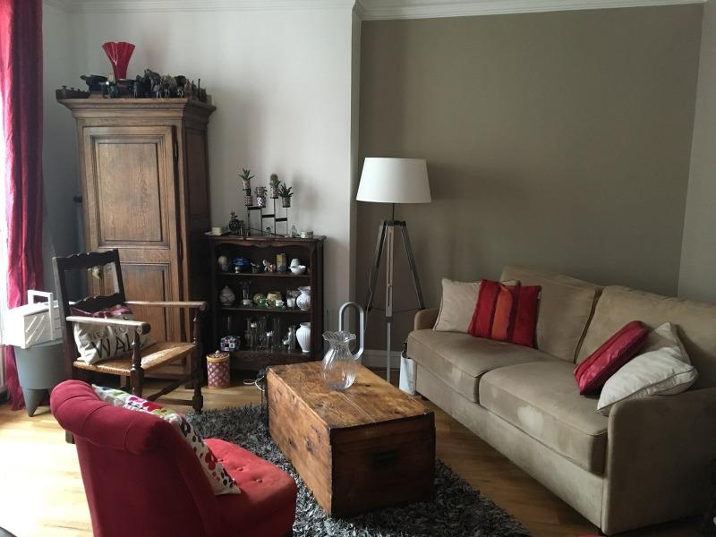 Photo après - aménager une pièce 2 fois plus grande par rapport à l'appartement précédent, bien identifier l'espace salon et l'espace salle à manger