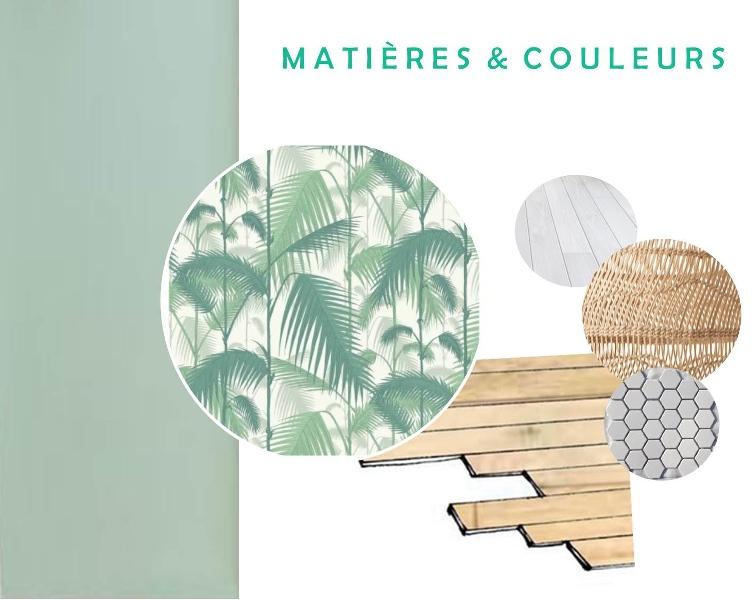Décoration d'un restaurant - aménagement de l'espace, choix des matériaux, du mobilier, planches matières et couleurs, planches shopping