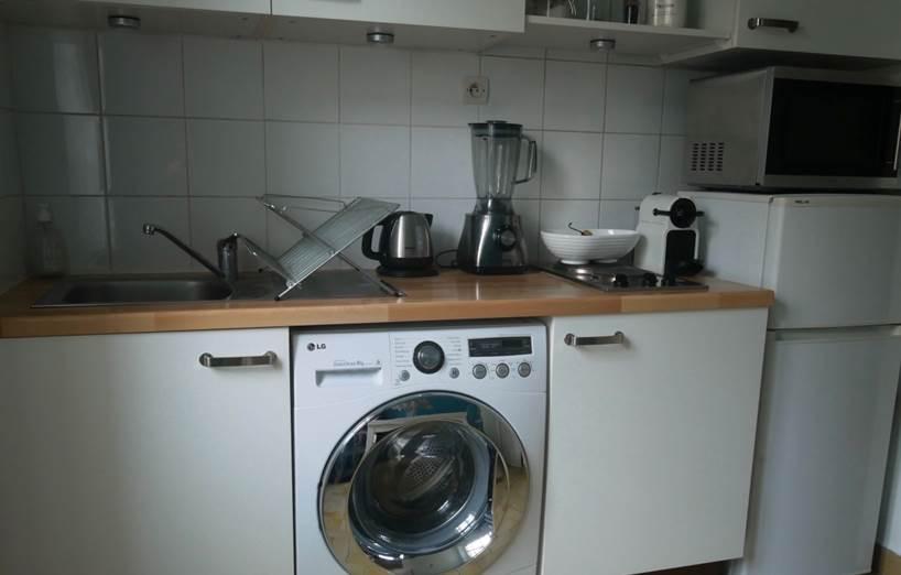 Photo après cuisine - moderniser une cuisine sans changer les meubles intégrés