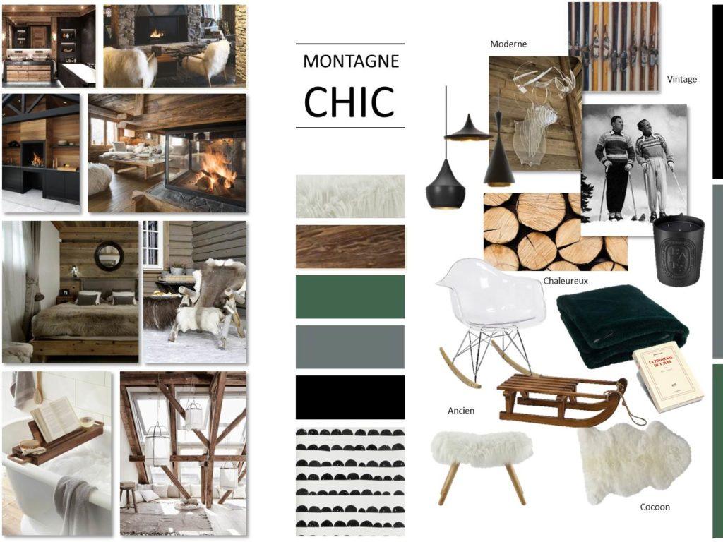 Appartement - plans techniques, maquette, zoning, planche tendance, plans 3D, planches shopping mobilier et accessoires déco, 3D appartement aménagé