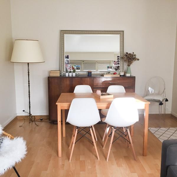 studio paris décoré dans le style scandinave