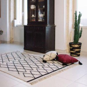 tapis berbere beni ouaraion tendance exotique la redoute intérieurs