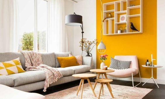 La couleur moutarde en décoration d\'intérieur - Happy Pog