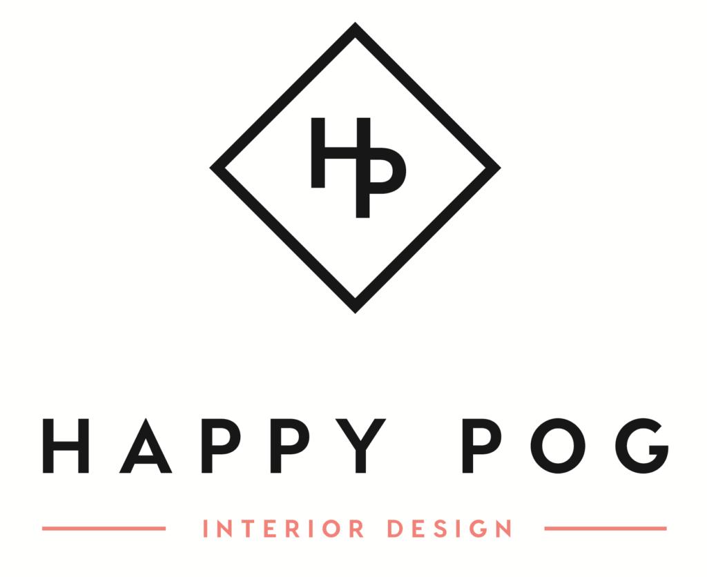 Logo Happy POG décoration d'intérieur et design d'espace