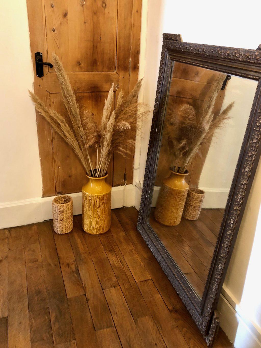 Décoration miroir couloir