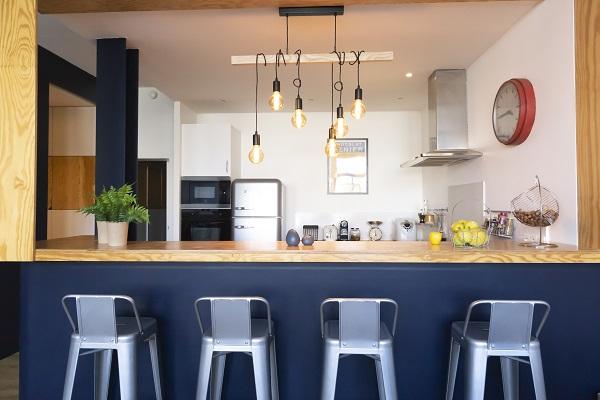 rénovation et décoration d'une cuisine dans un loft à Pantin par Happy POG
