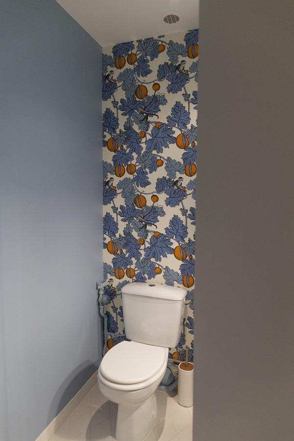 rénovation et décoration de toilettes dans un loft à Pantin par Happy POG