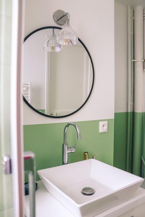 Rénovation d'une salle de bain à Paris par Happy POG