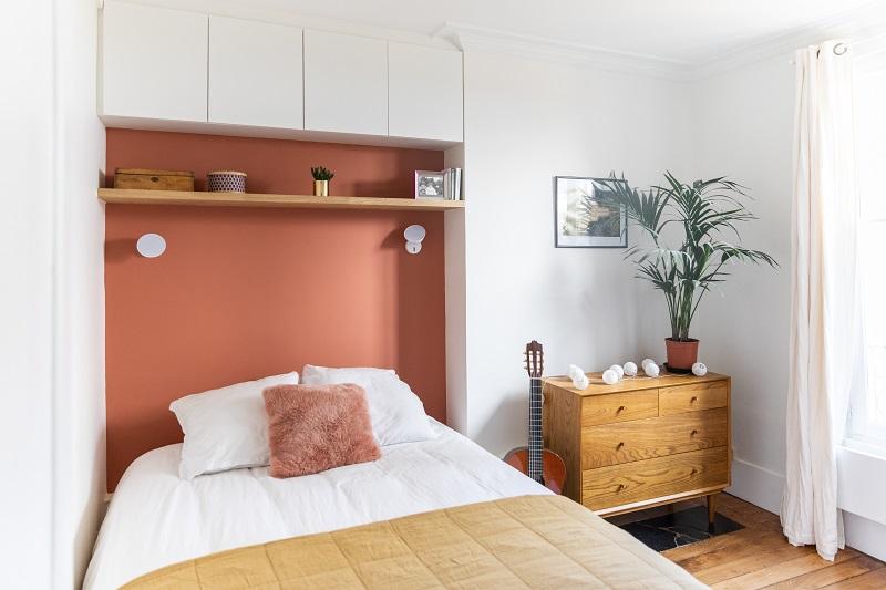 Rénovation d'une chambre à Paris par Happy POG