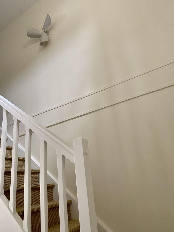 réalisation Vaires escaliers entrée