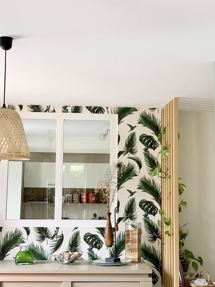réalisation Vaires papier peint salle