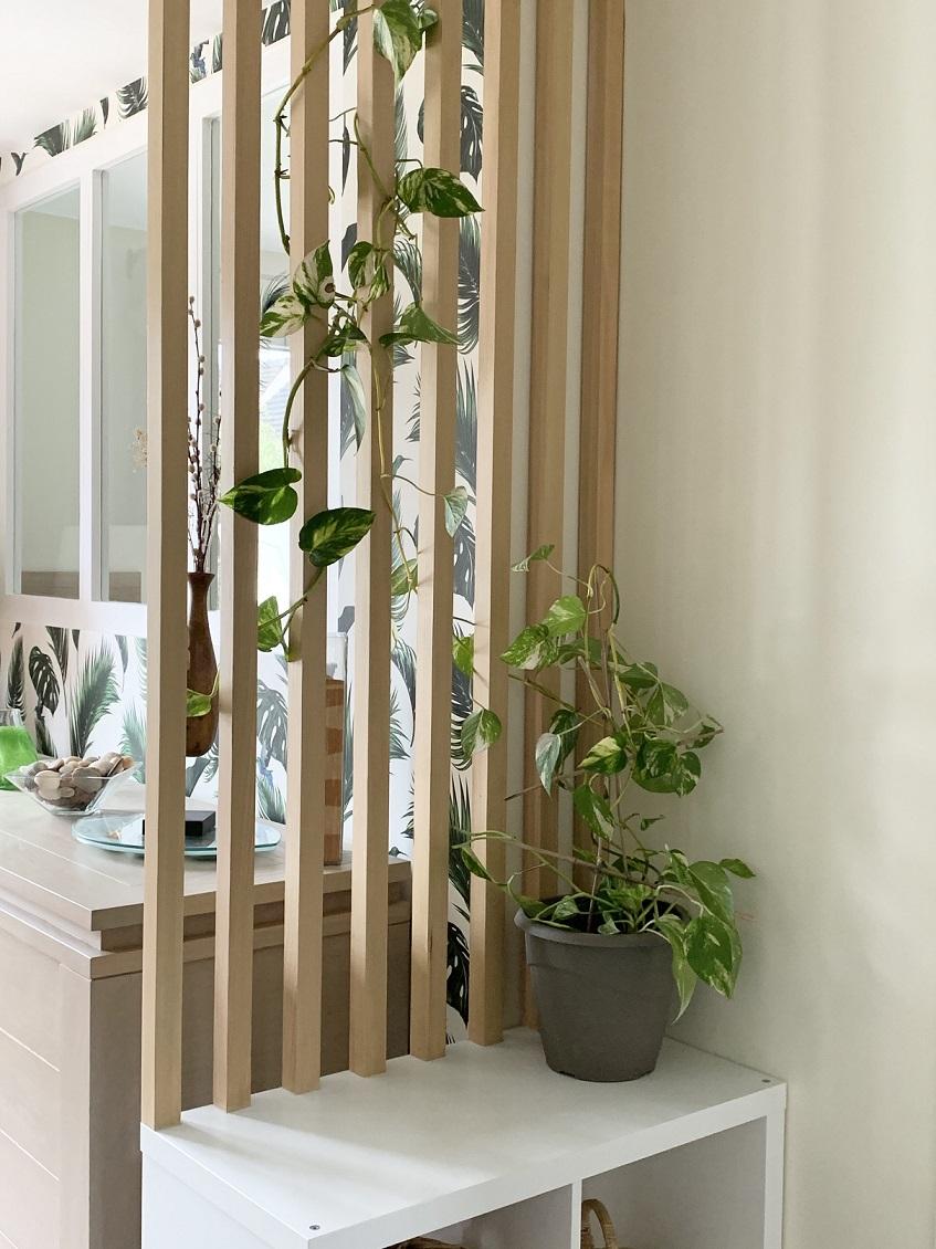 réalisation Vaires claustra bois salle